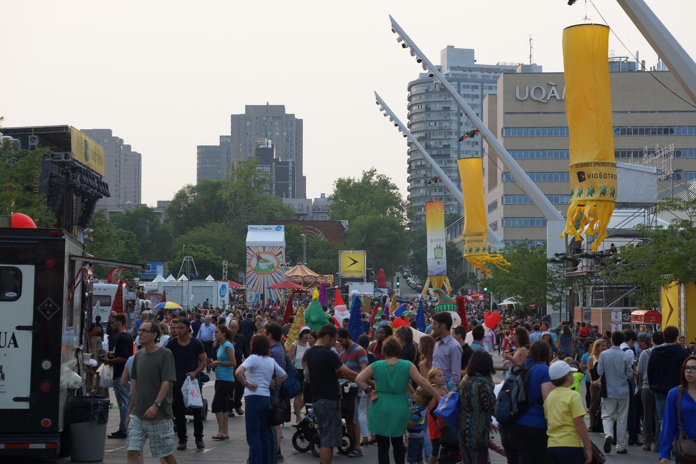 Le site principal du festival