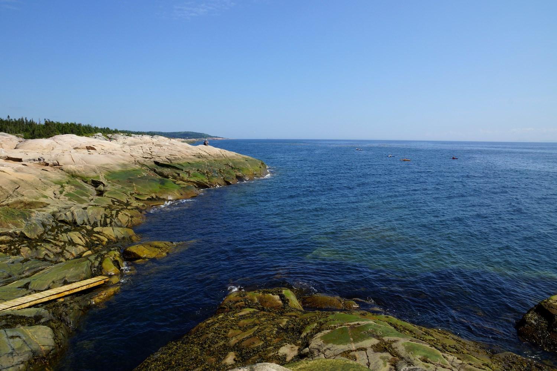 Le cap de Bon-Désir, où vous pouvez vous installer pour contempler les animaux marins