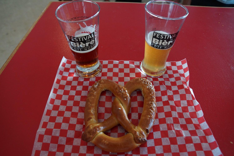 Bières et bretzel, un bien beau mélange !