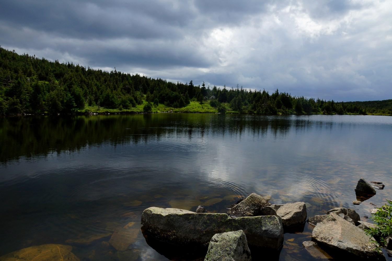 Le lac à truites...