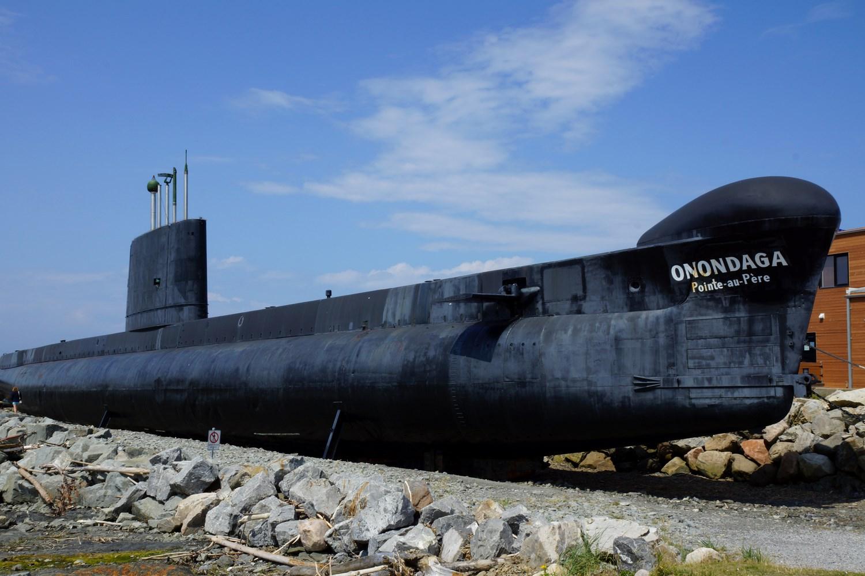 Le sous marin Onondaga, dont le sauvetage n'a pas été de tout repos !