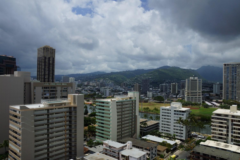 Même un orage qui se prépare a du charme lorsque l'on est à Hawaii !