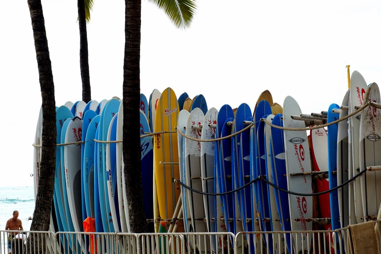 Une petite envie de surf ? C'est possible à Waikiki !