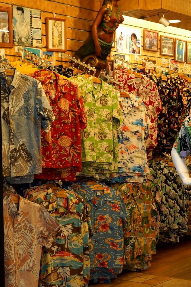 Les chemises Hawaïennes, ce n'est pas un mythe...