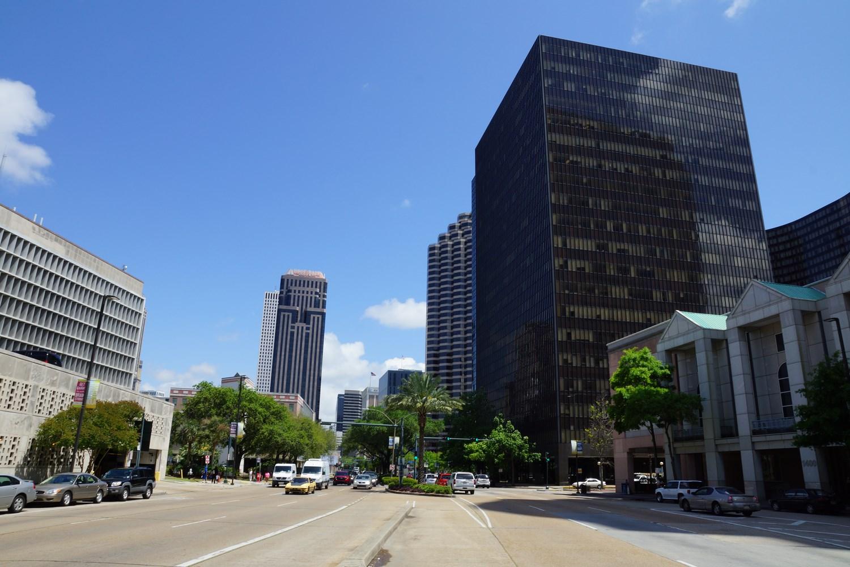 """Quartier d'affaires de NOLA, c'est le surnom signifiant """"New Orleans, Louisiana"""""""