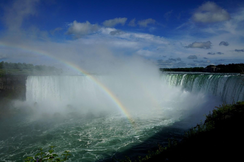 Arc en ciel sur Niagara Falls