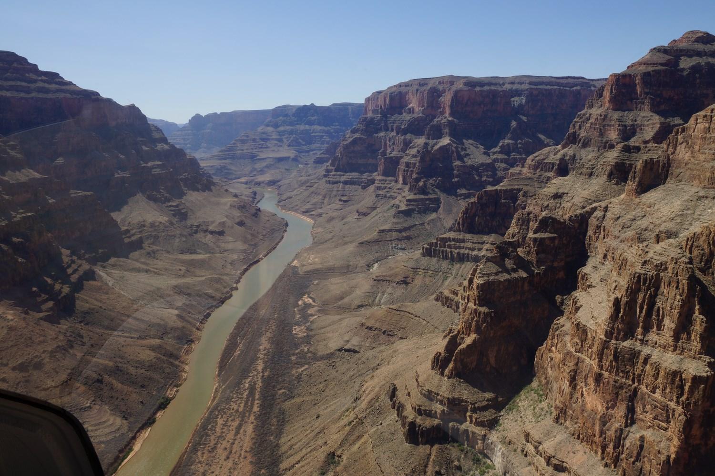 En plein dans le Grand Canyon !